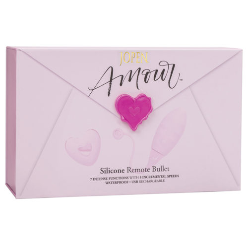 Amour Silicone Remote Bullet